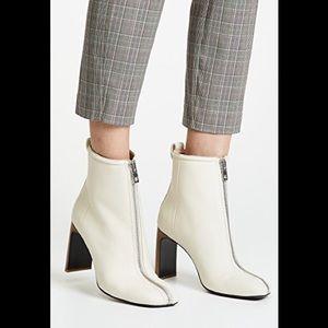 Rag & bone Front Zip Block Heel, size 9, new